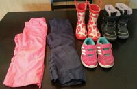 Toddler Girl Rain & Snow  Boots, Shoes, Pants Lot Kelowna, V1Y 9W3