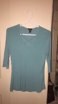 Teal Cross-Chested Shirt Magna, 84044