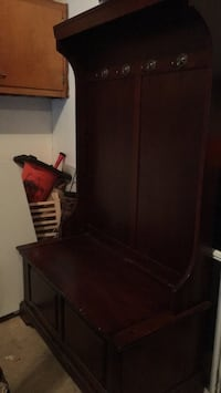 Hallway cabinet with storage and hooks Herndon, 20171