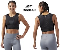 Reebok Perforated Cropped Tank (Size XL)  Toronto, M6N 3V9