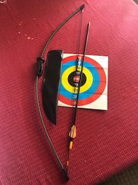 Bow and arrow archery youth set