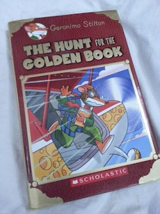 the hunt for the golden book scholastic