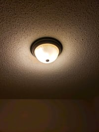 Flush mount, frosted, ceiling light Ottawa