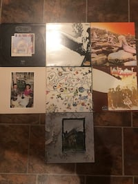 Led Zeppelin Vinyl Lot