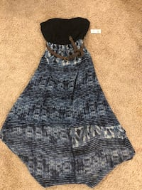 Backless dress size small  London, N6H 4T6