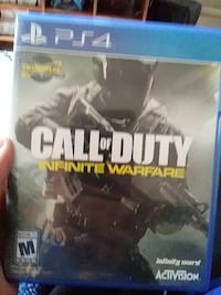 Call of Duty Infinite Warfare PS4 game case Ottawa, K4A 3X7