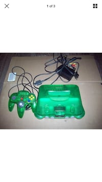 N64 console jungle green Rainbow City, 35906