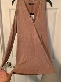 Long Sleeve Pink Top - Dynamite Mississauga, L5B