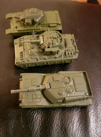 Metal Matchbox Army Tanks 1990's Edmonton, T5H 0H4