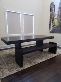West Elm Terra Dining Table with Bench Kensington
