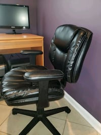 Office Depot Bonded Leather Office Desk Chair