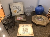 Lot of 7 Home Decorations $6 for all Manassas, 20112