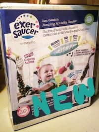 NEW Evenflo ExerSaucer, Jumper, Jump & Learn McLean