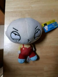 Family guy stewie plush toy Edmonton, T6L 3A5