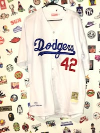 Jackie Robinson jersey dodgers