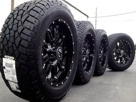 wheel and tire  combinations 43 down