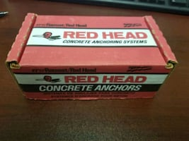 Ramset/Red Head Concrete Anchors