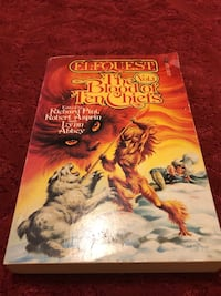 Elfquest The Blood of Ten Chiefs used paperback book