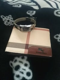 Burberry watch and wallet Edmonton, T6E 6T9