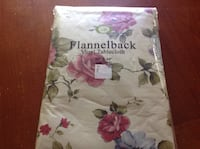 Flannel Back vinyl tablecloth Norwood, 02062