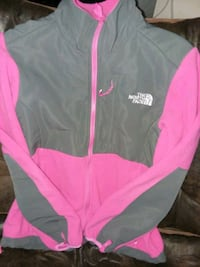 The north face pink and gray fleece (m) Powell, 37849