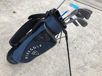 Child size Nike golf bag and clubs 361 mi