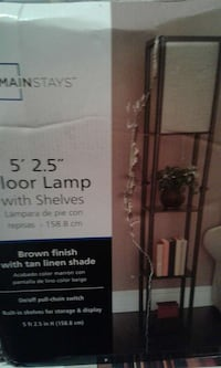 mainstays floor lamp with shelves Salyersville, 41465