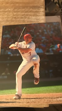 Not autographed Holliday Picture   Ballwin, 63021