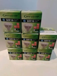 x8 High Quality LED 7.5W MR16 Dimmable 3000k