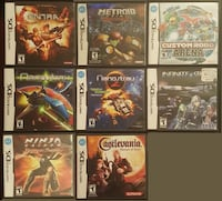 nintendo DS games Burnaby