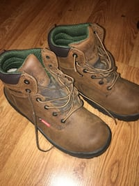 King Toe Red Wing Steel Toe Lace Up Ladies Boots 7 Forest Grove, 97116