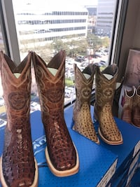 !!SALE!!! ALL BOOTS 25% OFF FOR THE RODEO!!!! NEAR NRG!! Houston, 77054