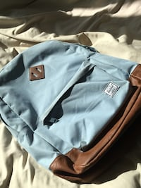 Light blue Herschel backpack