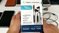 Tech Armor Talk n' Charge Earbuds Toronto