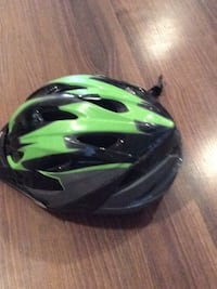 green and black bicycle helmet Surrey, V4N 5R1