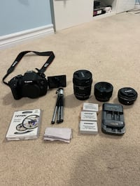 Canon T5i DSLR Camera | 9.5/10 *SEND OFFERS* Need gone ASAP