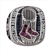 silver-colored Boston Red Sox championship ring Mississauga, L5E 1L8