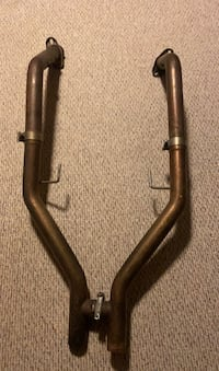 Exhaust off road H pipe