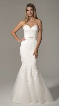 Venus Mermaid Style Bridal Gown Kitchener