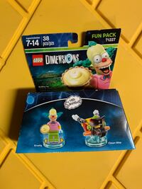 LEGO Dimensions, Simpsons Krusty Fun Pack Lancaster, 17603