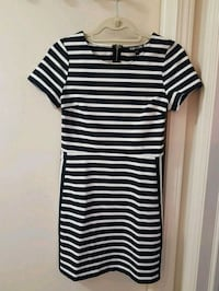 Black and White Striped Dress, size 4 Edmonton, T5H 4R8