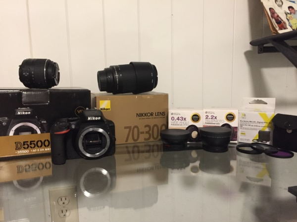 Nikon D5500, Accessory Bundle Kit.. Great Camera That Provides Excellent Photo Quality