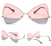 JESSISA MSPACE CAT EYES BUTTERFLY SHAPED SUNGLASSES