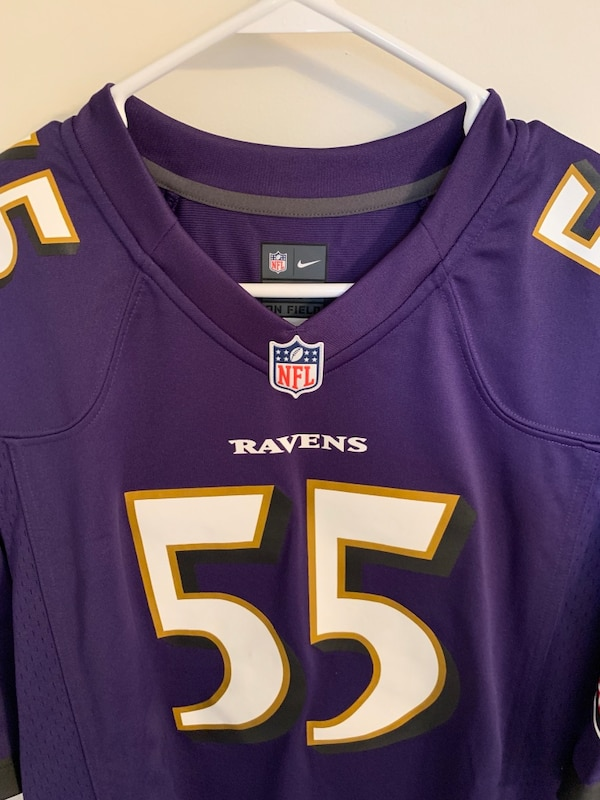 newest collection b0c64 ad210 Terrell Suggs Authentic Ravens Jersey Men's Medium