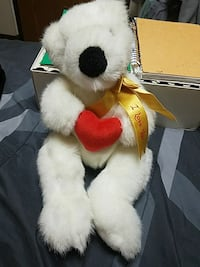 I Love You Polar Bear Stuffed Animal