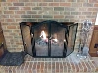 Fireplace cover gate. Wood holder. And maintenance Stone Mountain, 30087