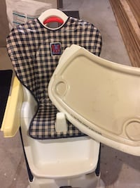Fisher price high chair .