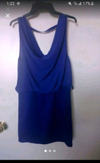Royal Blue Short Dress - Medium Fit Toronto, M2N