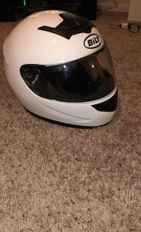 Small Bilt helmet+pak talk slim Bluetooth barely used. Lorton, 22079