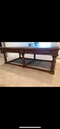 Stone top coffee table  12 mi